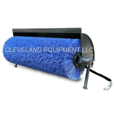 Angle Broom Attachment - Pic 001 - Cleveland Equipment LLC