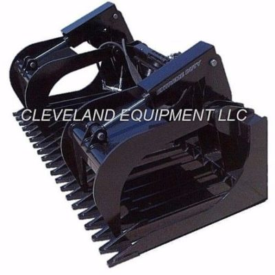 Rock Grapple Attachment ED -Pic001- Cleveland Equipment LLC
